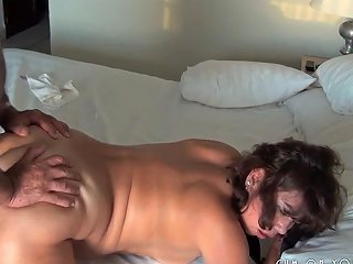 Chubby Horny Wife Taking It From Behind